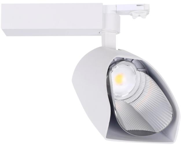 new design wall washer led track light Ra90 darkoo lens cree chip 15w 20w 30w