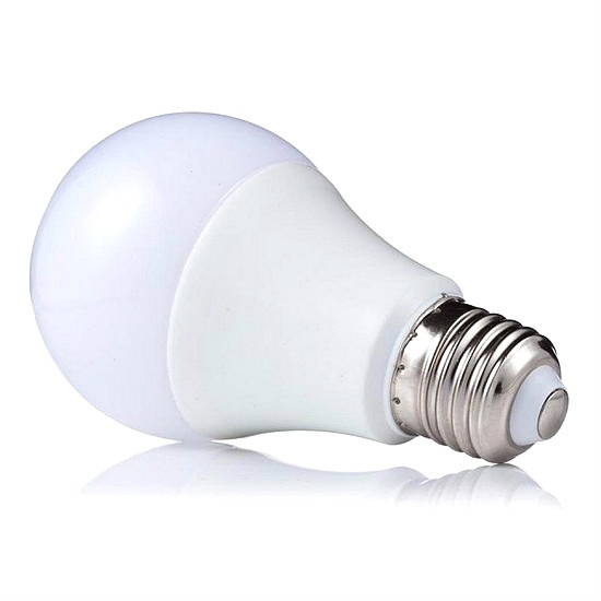 led bulb plastic and aluminum E27 E14 3w 5w 7w 9w 12w 15w 18watt