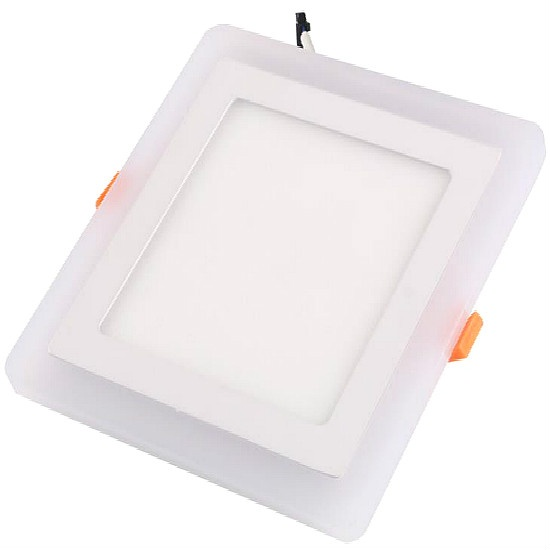recessed double color acrylic led downlight 3+2w
