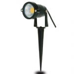 waterproof 3w5w10w led spike cob wall mounted light outdoor